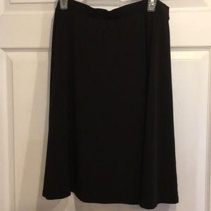 George black skirt